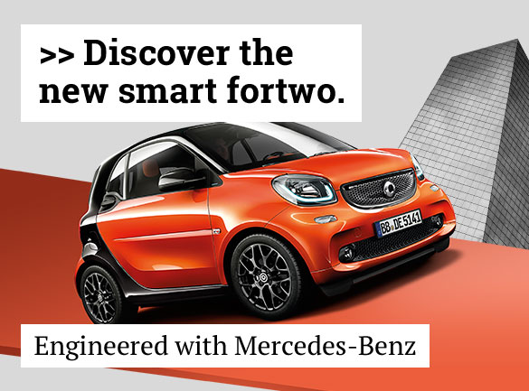 Discover the smart fortwo