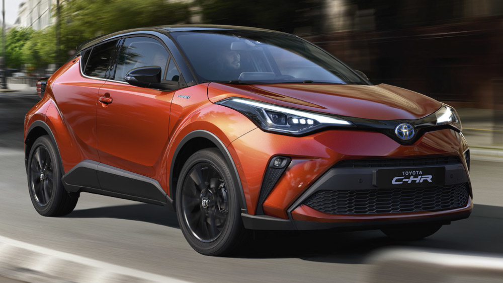 Toyota C-HR at Inchcape