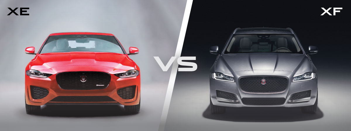 Jaguar XE vs XF Price
