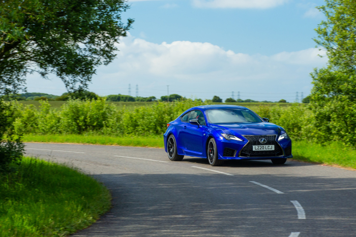 Lexus RC F with Inchcape