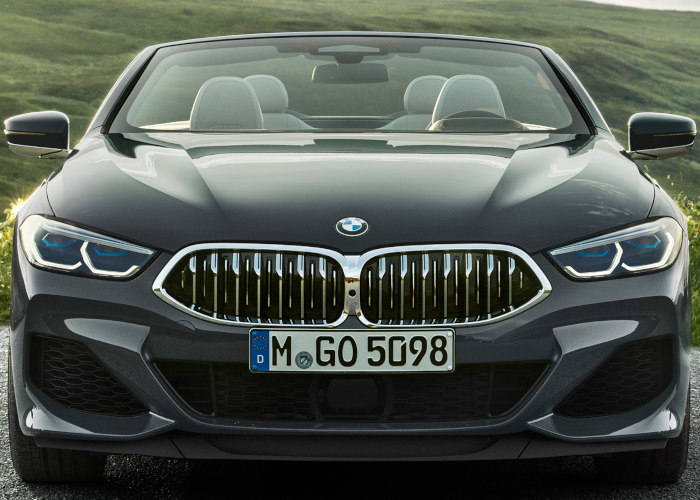 8 Series Convertible Grille