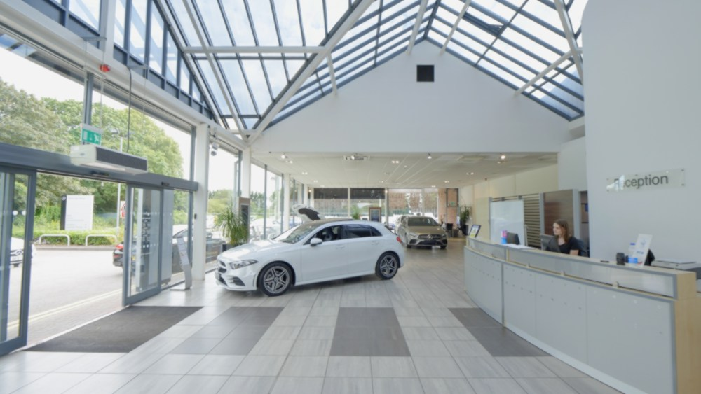 Mercedes-Benz of Stratford-upon-Avon Showroom