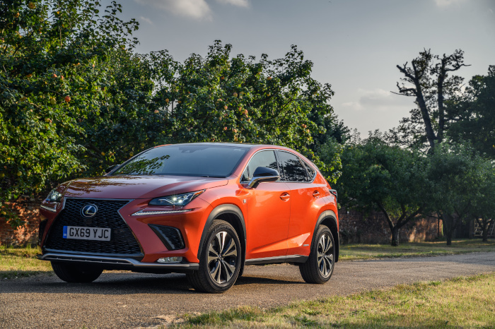 Lexus NX with Inchcape