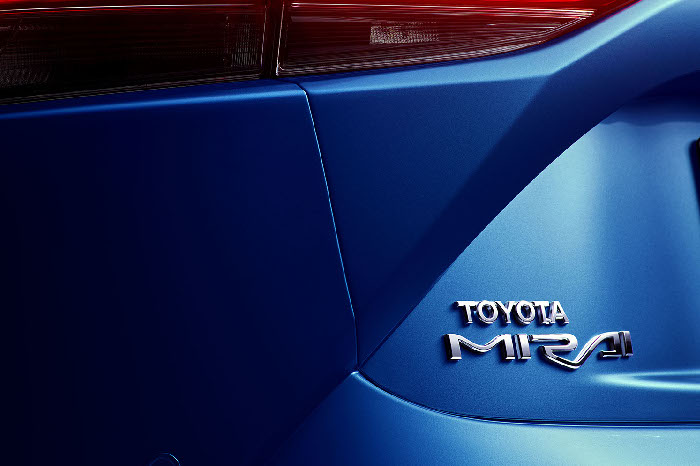 New Toyota Mirai 2021 at Toyota Inchcape