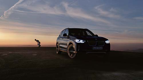 BMW iX3 at Cooper BMW Inchcape