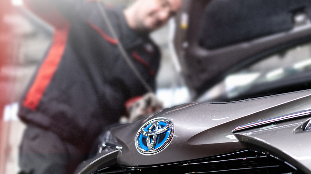 Toyota Service and MOT at Inchcape
