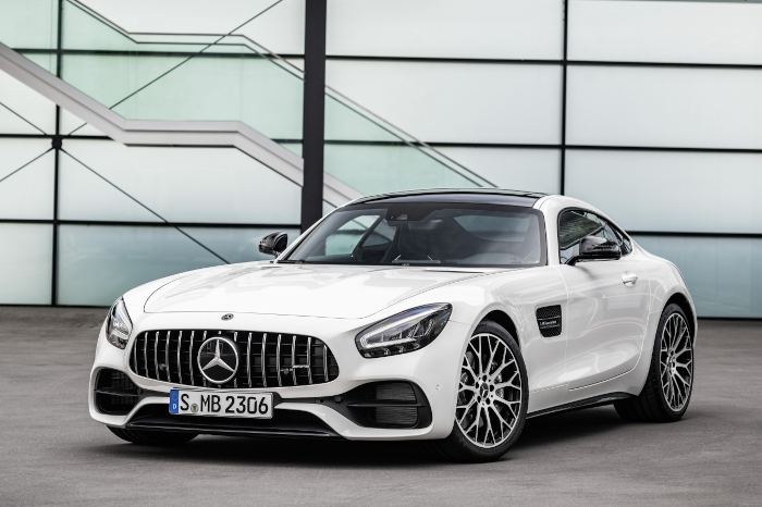 Mercedes AMG GT at Inchcape