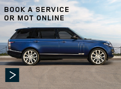 Land Rover - Book a Service or MOT