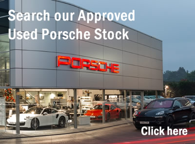 Search our Approved Used Porsche stock